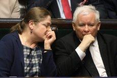 I Krystyna Pawłowicz, i Jarosław Kaczyński mają coś za uszami.