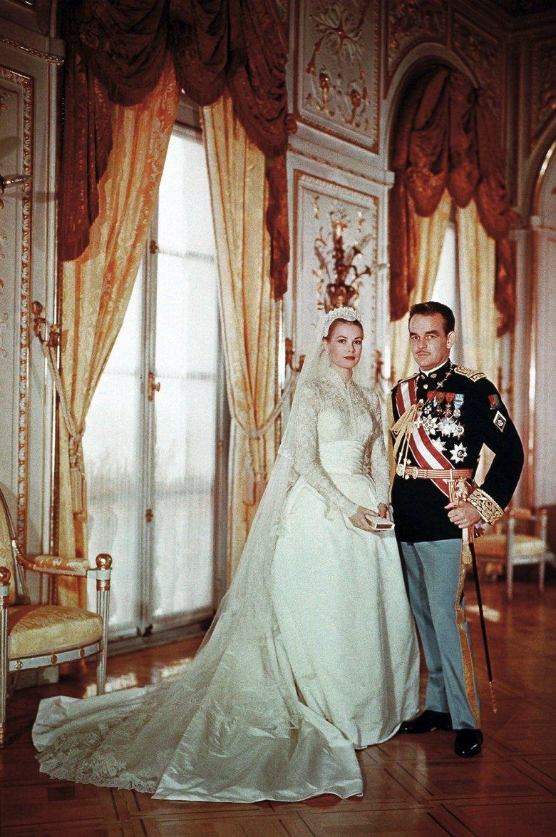 Fotografia ślubna pary książęcej.