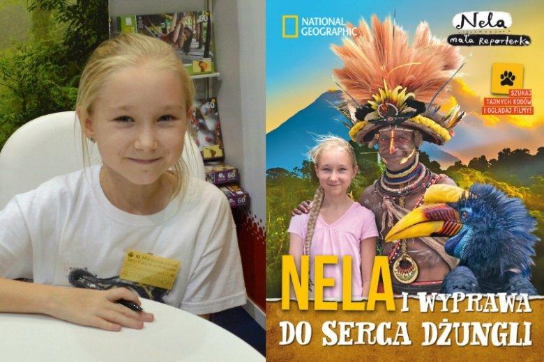 W książce ''Nela i wyprawa do serca dżungli'' mała reporterka zabiera czytelników do borneańskiej dżungli, aby odszukać łowców głów