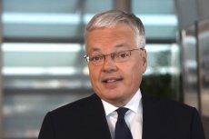 Didier Reynders, unijny komisarz ds. sprawiedliwości stanął w obronie sędziego Pawła Juszczyszyna.