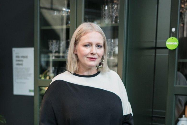 Kasia Nosowska na evencie  nowego katalogu IKEA