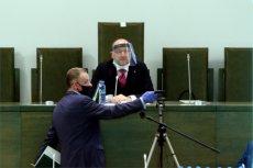 Kamil Zaradkiewicz odroczył obrady Sądu Najwyższego.