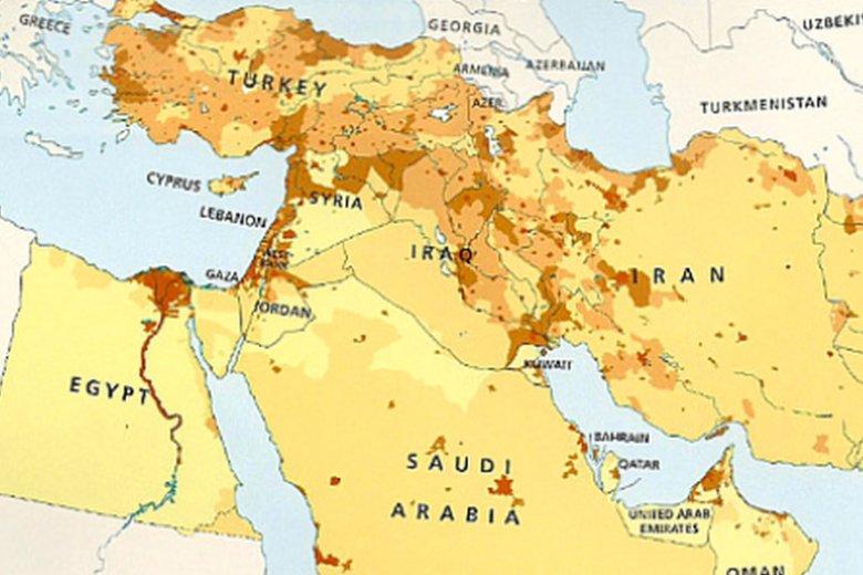 W wydanym przez Collins Bartholomew atlasie zabrakło Izraela.