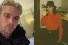 Aaron Carter szczerze opowiedział o relacji łączącej go z Michaelem Jacksonem
