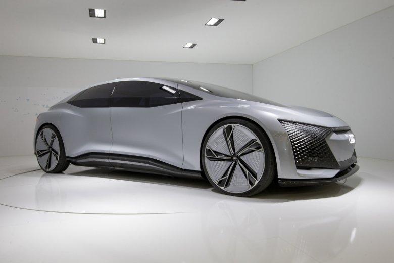 Tak wygląda Audi Aicon. Pytanie, ile z tego zostanie, gdy wejdzie do produkcji.