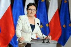 Ewa Kopacz nie zgadza się na propozycje Piotra Dudy.