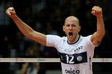 Bartosz Kurek zagra we włoskim Vero Volley. Na zdjęciu jeszcze w barwach ONICO Warszawa.