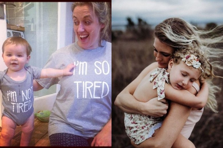 Zdjęcia postowane na Finstagramie mają pokazywać prawdziwe i naturalne życie (z lewej) i stawać w kontrze do idealnie obrobionych zdjęć znanych z Instagrama (z prawej).