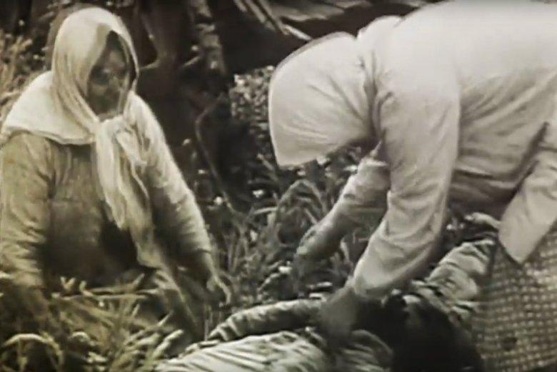 """Zdjęcie pochodzi z materiału przygotowanego na 65. rocznicę akcji """"Wisła""""."""