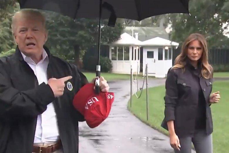 Melania Trump spotkała się ze zniewagą ze strony męża. To nie pierwszy raz, kiedy prezydent USA źle traktuje kobiety.