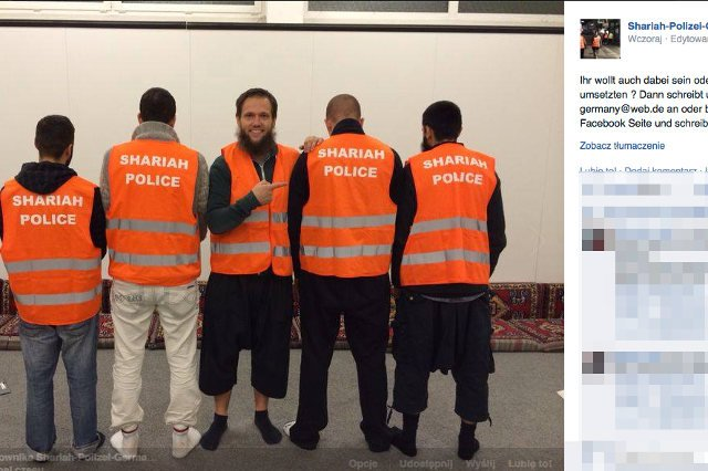 """Muzułmańscy """"policjanci"""" opublikowali swoje zdjęcia w internecie"""