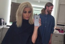 Kim Kardashian w nowej blond odsłonie