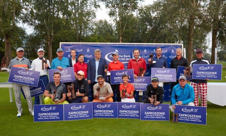 Laureaci finałowego turnieju Deutsche Bank Polish Masters 2015