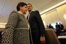 Premier Beata Szydło była szefową Morawieckiego w rządzie, teraz to on będzie patrzył na nią z góry
