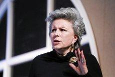 """Krystyna Janda proponuje, by  """"posprzątanie po katastrofie"""" powierzyć ekipie rządzącej złożonej z kobiet."""