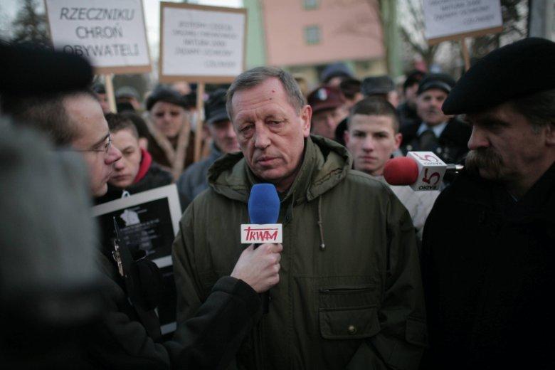 Jan Szyszko w Augustowie w 2006 roku