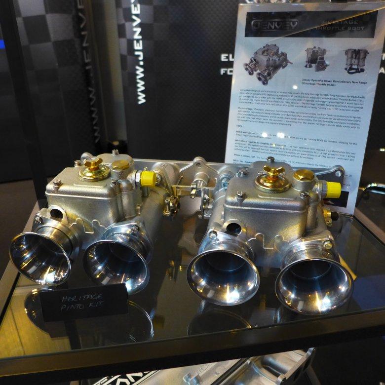 Gaźniki Weber DCOE w zabytkowym samochodzie można zastąpić specjalnym układem wtryskowym