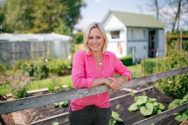 Maja Popielarska, najbardziej znana ekspertka od ogrodów w Polsce.