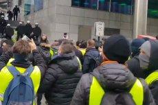 """Po Francji przyszedł czas na Belgię – tam też protestują """"żółte kamizelki"""""""