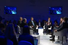 """Jak nowi gracze zmienią sektor finansowy? Czy tradycyjne instytucje są na te zmiany gotowe? O tym dyskutowali uczestnicy panelu """"Bezpieczeństwo globalnych finansów w przyszłości"""""""
