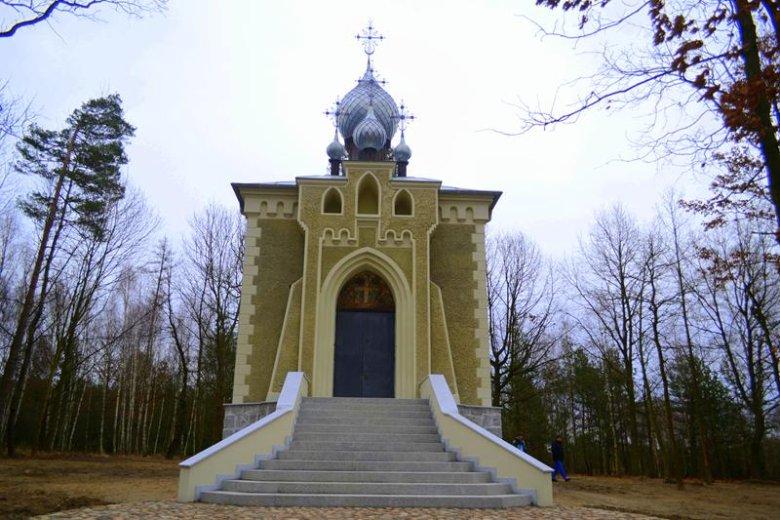Cerkiew po remoncie.