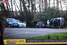 97-letni książę Filip miał wypadek samochodowy.