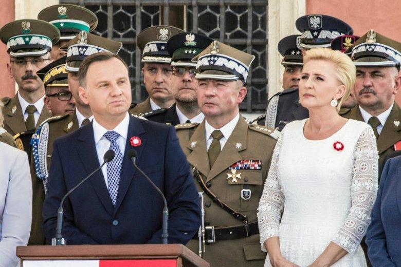 Andrzej Duda mówił z okazji Święta 3 Maja o odbudowie Zamku Królewskiego. Leszek Miller zarzucił mu kłamstwo.