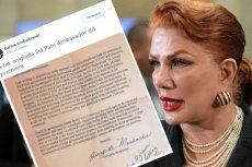 Pełną treść listu Mosbacher jako pierwsi ujawnili dzienniakrze Dziennika Gazety Prawnej oraz RMF FM.
