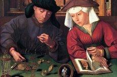 Quentin Metsys, Bankier z żoną, 1514, Luwr, Paryż.