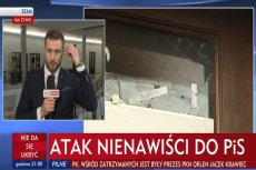 TVP informuje o ataku nienawiści do PiS. Chodzi o podpalenie biura Beaty Kempy.