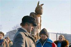 """Całe życie na drugim planie: Jerzy Turek (w niebiesko-czerwonej kurtce) w """"Misiu"""""""