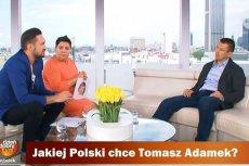"""Tomasz Adamek w """"Dzień Dobry TVN"""""""