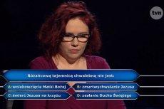 """Katarzyna Kant-Wysocka wygrała główną nagrodę w """"Milionerach"""" jako trzecia osoba w Polsce."""