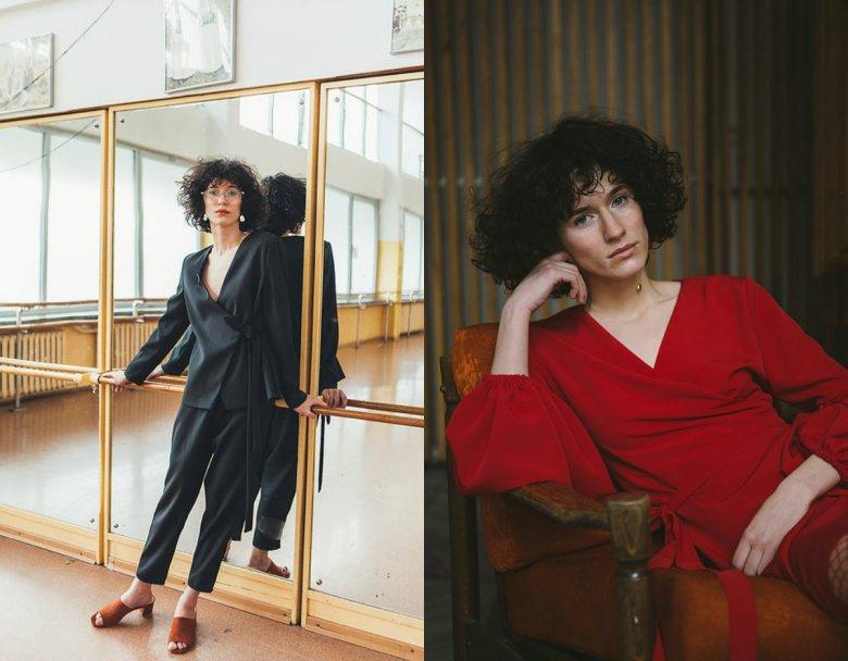Najnowsza kolekcja Natalii, to przede wszystkim czernie, czerwienie, grochy i lata 80.