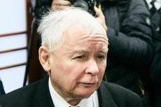 Jarosław Kaczyński podczas rozprawy w Sądzie Okręgowym w Gdańsku w procesie przeciwko Lechowi Wałęsie.