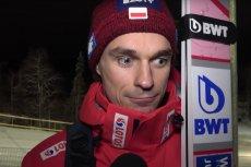 Piotr Żyła udzielił trudnego wywiadu serwisowi skijumping.pl po skokach w fińskim Kuusamo.