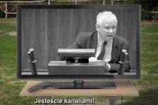 """TVP odmówiła PO emisji spotu promującego """"Marsz Wolności""""."""