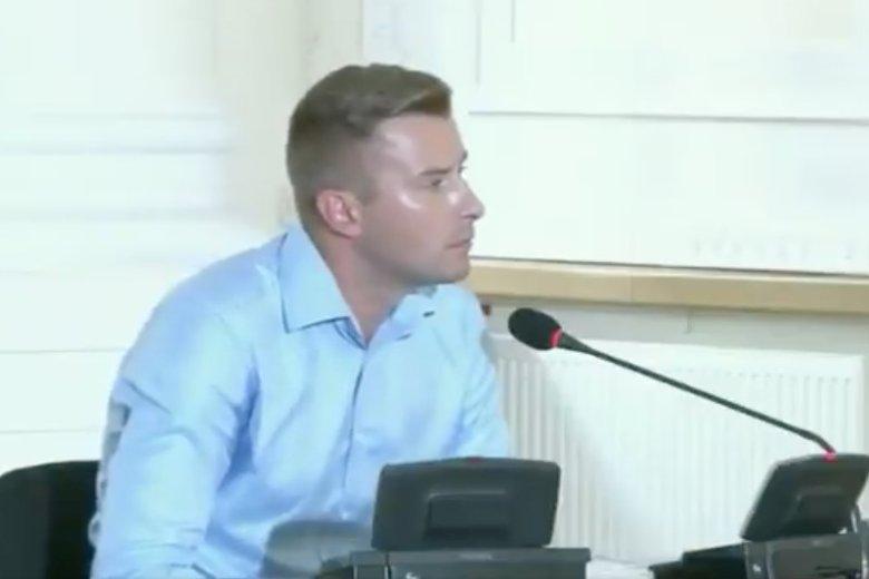 Kamil Kobylarz - świadek ukarany grzywną za uchylanie się od odpowiedzi na pytania przed Komisją Weryfikacyjną.