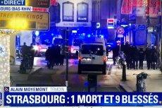 Zamach w Strasburgu we Francji? Są doniesienia o wielu rannych i co najmniej jednej ofierze śmiertelnej.
