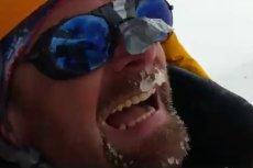 Film nagrany przez Rafała Fronię pokazuje, z czym tak naprawdę muszą się podczas wyprawy na K2 zmierzyć polscy himalaiści.