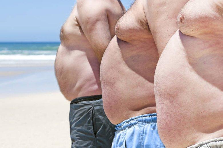 Brzuchy tego gabarytu na plaży, to częsty widok nad polskim morzem