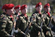 Żandarmeria Wojskowa pełni rolę policji wojskowej.