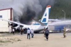W Rosji awaryjnie lądował samolot An-24. Zginęło dwóch pilotów.