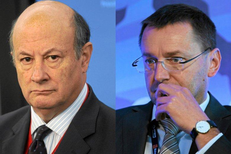 Jacek Rostowski i Janusz Jankowiak