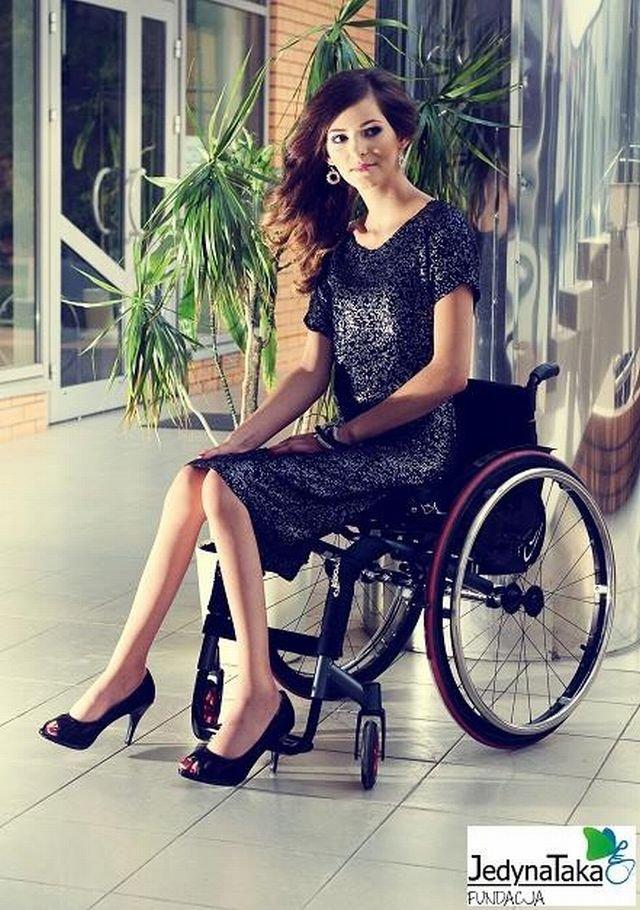 Julia Torla - Miss Polski na wózku 2014