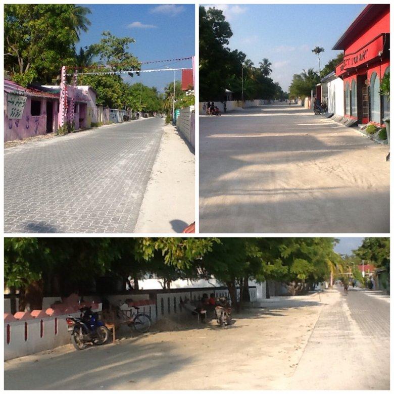 Muzułmańska wioska Mahedhoo, Addu Atol, Malediwy