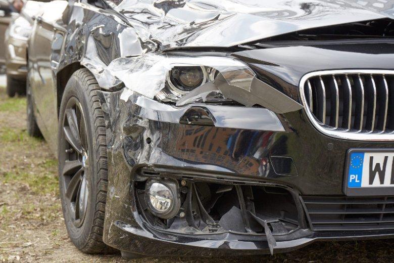 Rządowe BMW miało poważną kolizję (zdjęcie ilustracyjne).
