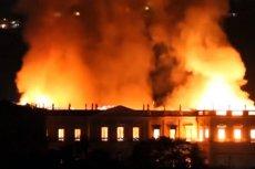 Muzeum Narodowe w Rio de Janeiro stanęło w płomieniach. To wielka tragedia dla Brazylii.