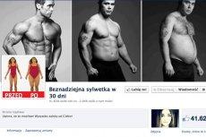 """Facebookowy profil """"Beznadziejna sylwetka w 30 dni"""" polubiło już ponad 41 tys. osób"""