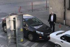 Wicemarszałek Sejmu Ryszard Terlecki nie popisał się parkowaniem.
